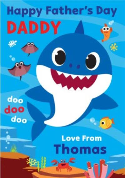 Baby Shark Doo Doo Doo Father's Day Card