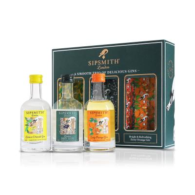 Sipsmith Distillery Gift Set, 3 x 5cl