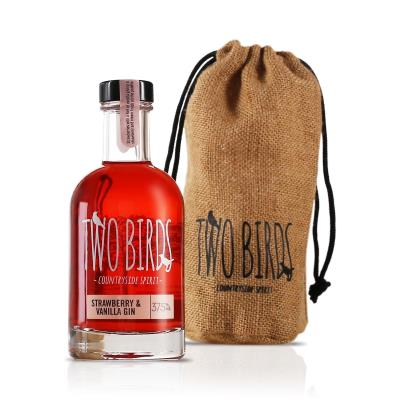 Two Birds Strawberry & Vanilla Gin 20cl Bag Gift Set