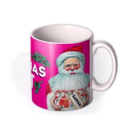Twat Personalised Christmas Mug