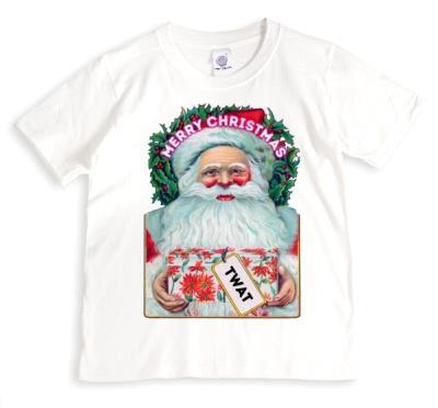 Twat Personalised Christmas T-Shirt