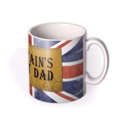 Union Jack Britain's Best Dad Mug