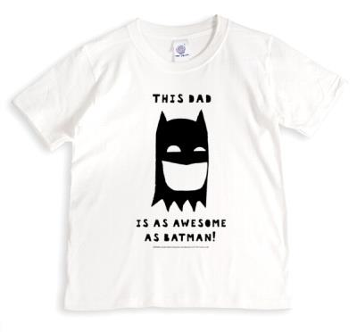 This Dad is as awesome as Batman - personalised t-shirt