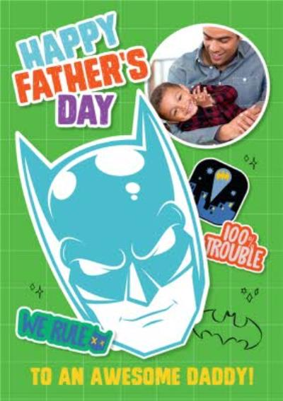 Happy Fathers Day To An Awesome Daddy Photo Upload Card