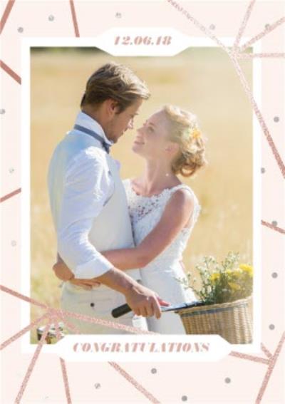 Wedding Card - Wedding Day - Congratulations - Photo Upload