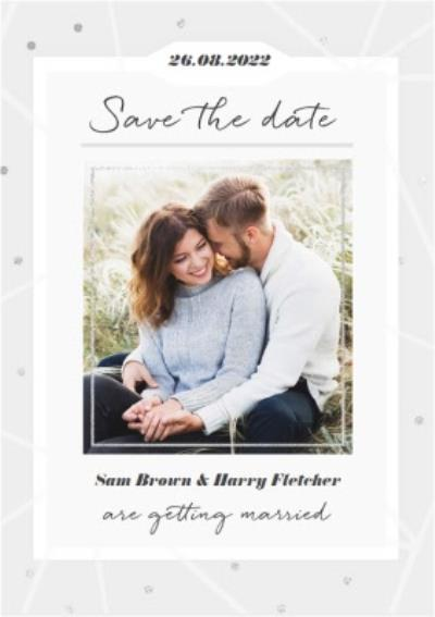 Wedding Save The Date Photo Upload Card