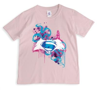 Superman Pink Personalised T-shirt