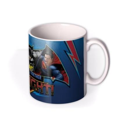 Batman Vs Superman Fight Personalised Mug