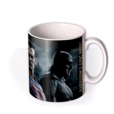 Batman Vs Superman Trio Personalised Mug