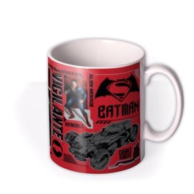 Batman Vs Superman Hero Photo Upload Mug