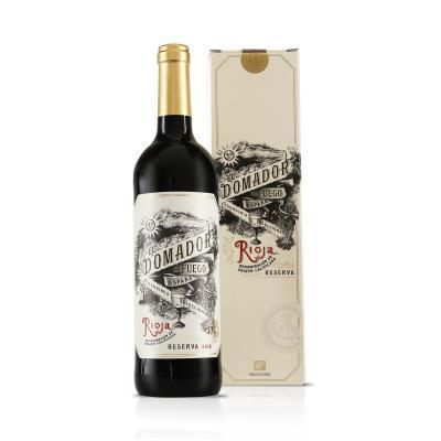 El Domador de fuego Rioja Reserva Gift Pack