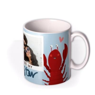 Valentine's Day Mug - Photo Upload - Lobster