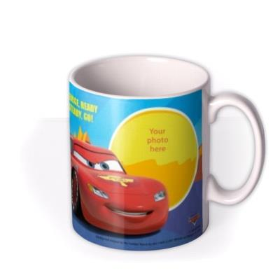 Cars Ready Steady Go Photo Upload Mug
