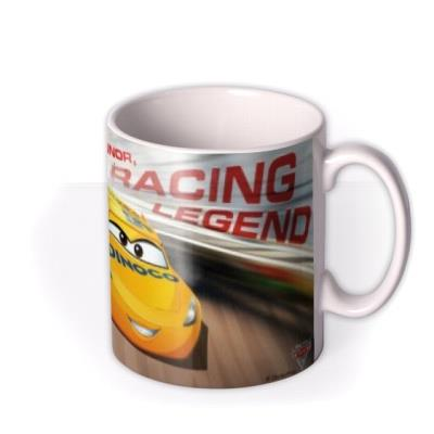 Cars Racing Legend Personalised Name Mug