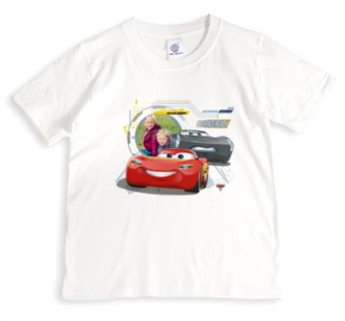 CARS McQUEEN PERSONALISED KIDS T SHIRT