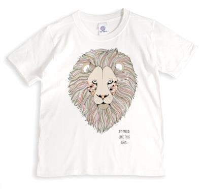 Lion Wild Personalised T-shirt