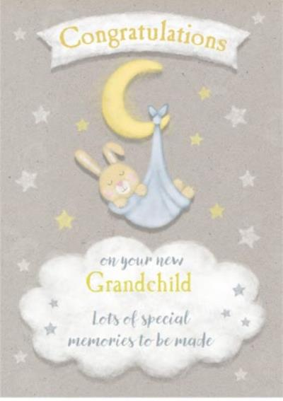 Cute Grandchild Card - Congratulations