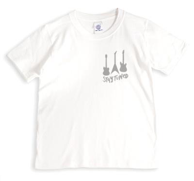 Three Light Grey Electric Guitars Grey T-Shirt