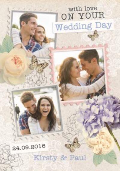 Photo Wedding Card