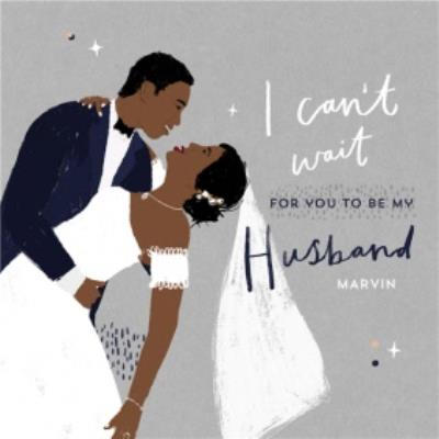 Wedding Card - Husband - Husband To Be