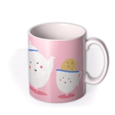 Pink Mum You're Tea-Riffic Mug
