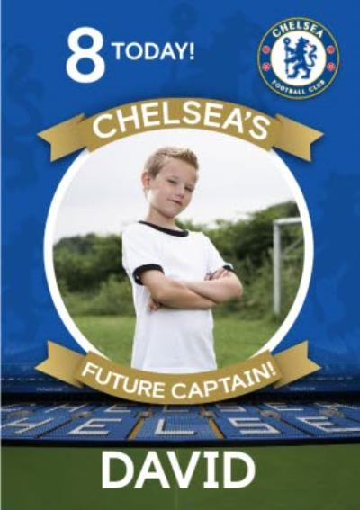 Chelsea FC Birthday Card - Chelsea's Future Captain!