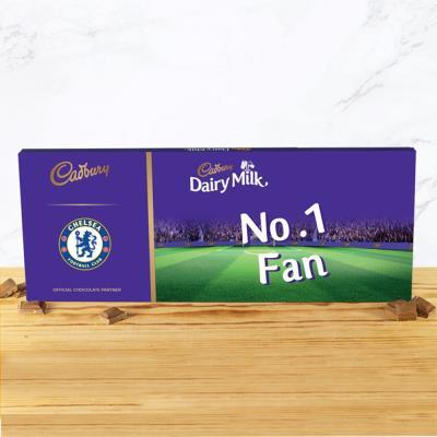 No.1 Chelsea Football Fan Cadbury Bar (850g)