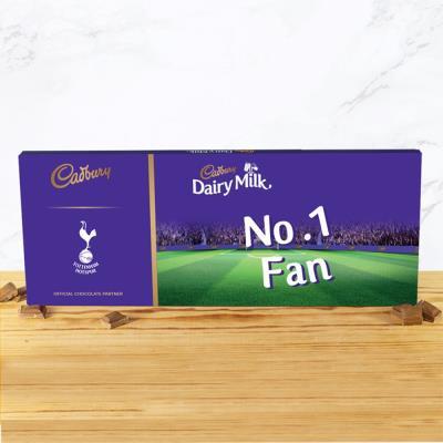 No.1 Tottenham Hotspur Football Fan Cadbury Bar (850g)