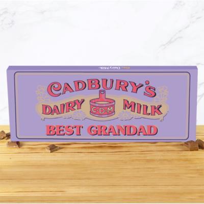 Best Grandad 1905 Cadbury Bar (850g)