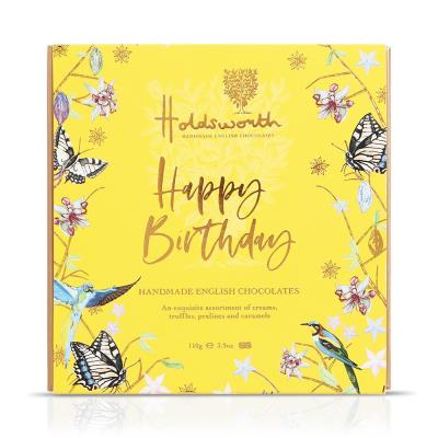 Holdsworth 'Happy Birthday' Assorted Chocolates (110g)