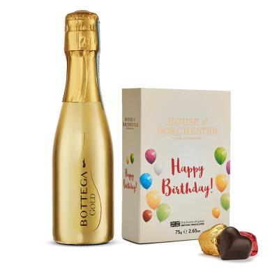 Happy Birthday Truffles and Prosecco Gift Set