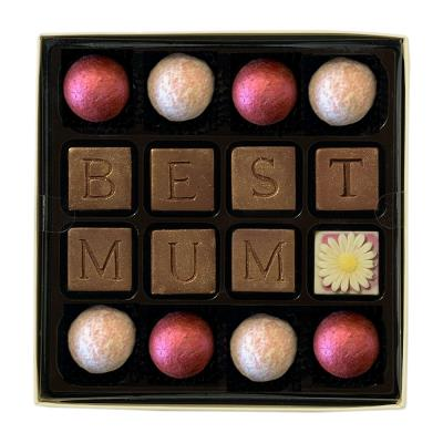 Choc on Choc Best Mum' Chocolate Truffles Box