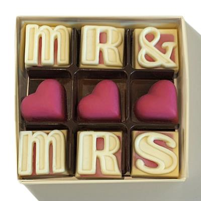 Choc on Choc Mr & Mrs Chocolate Box