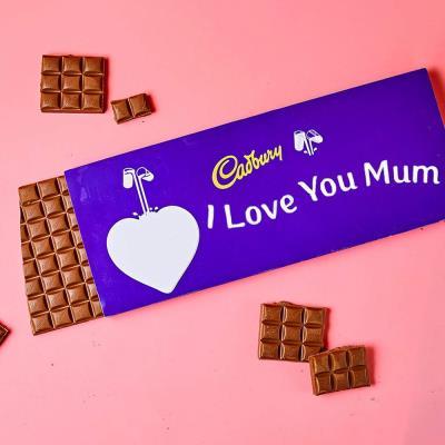 I Love You Mum Cadbury Dairy Milk