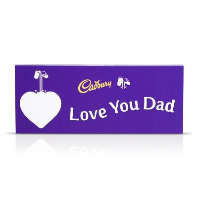 Giant I Love You Dad Cadbury Bar (850g)