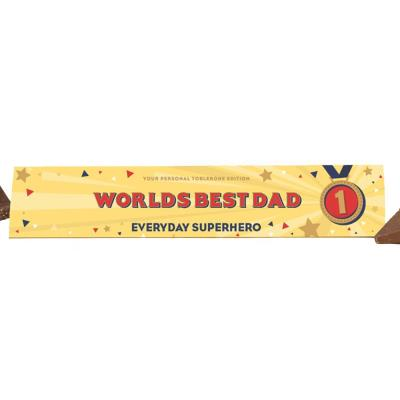 World's Best Dad Toblerone (360g)