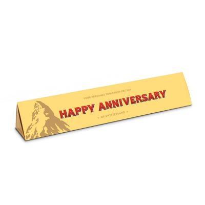 Happy Anniversary Milk Chocolate Toblerone (360g)