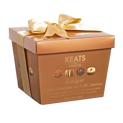 Keats Luxury Truffle Selection Brown Gift Box (220g)