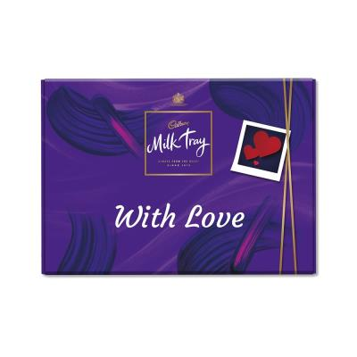 With Love Milk Tray (530g)