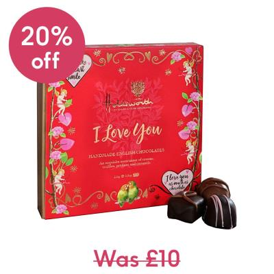 Holdsworth 'I Love You' Assorted Chocolates (110g)