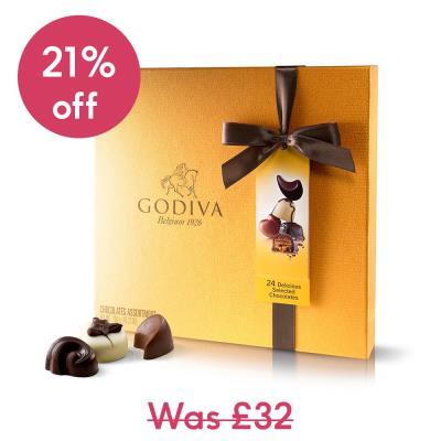 Godiva Gold Chocolate Box (260g)
