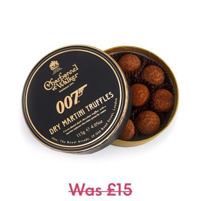 Charbonnel Et Walker 007 Dry Martini Truffles (120g)
