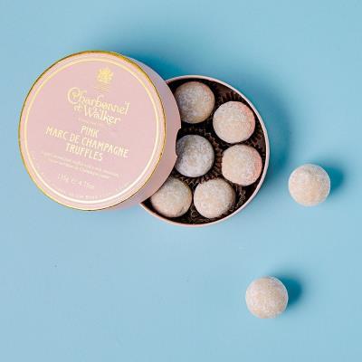 Charbonnel Et Walker Pink Marc De Champagne Chocolate Truffles (135g)