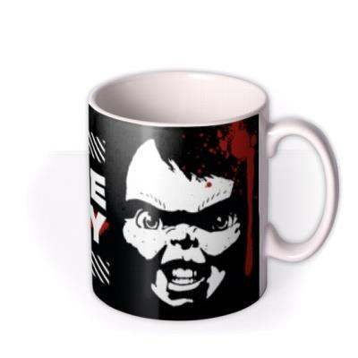 Universal Chucky It's Time To Play A Game Recording Mug