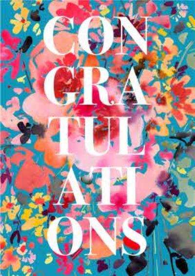 Colourful Bright Congratulations Card