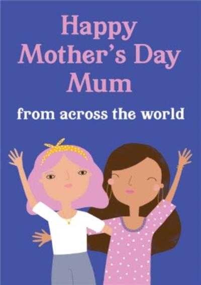 Paperlink Choose Joy Happy Mother's Day Mum From Across The World Card