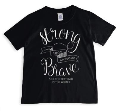 Strong Brave Personalised T-shirt