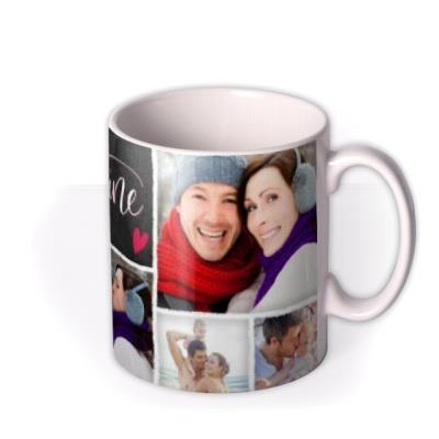 Valentine's Day For My Valentine Photo Upload Mug
