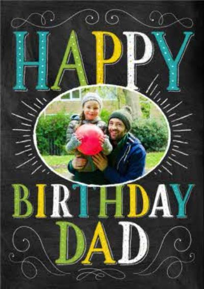 Photo Birthday Card For Dad - Dad's Photo Upload Card
