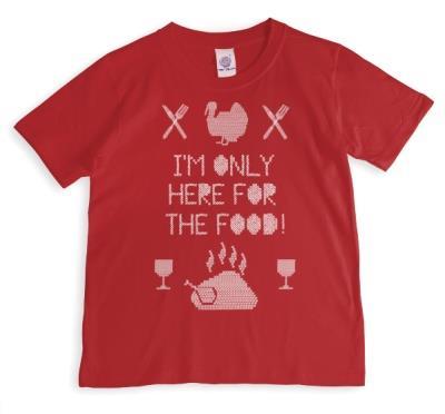 Christmas Food Personalised T-shirt